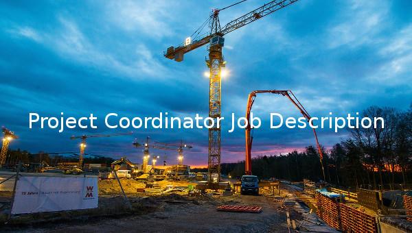 projectcoordinatorjobdescriptiontemplate