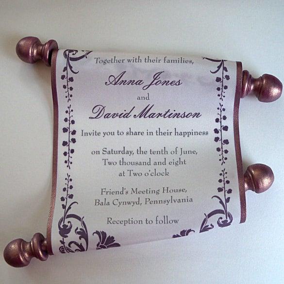31+ Elegant Wedding Invitation Templates