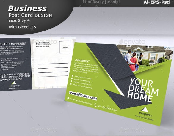 33 Postcard Design Templates Free Sample Example Format Download