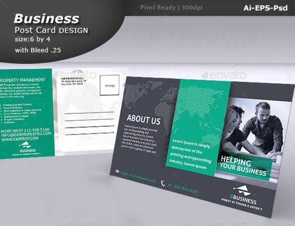 33 postcard design templates free sample example format download free premium templates for Postcard template ai