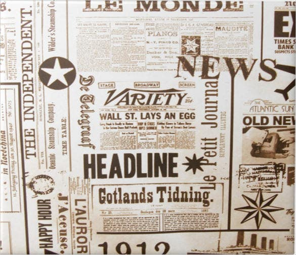 vintage newspaper old ads template