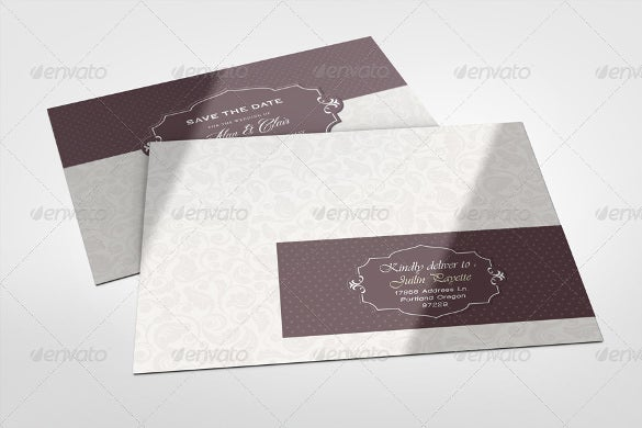 envelope adressing wedding invitation template download