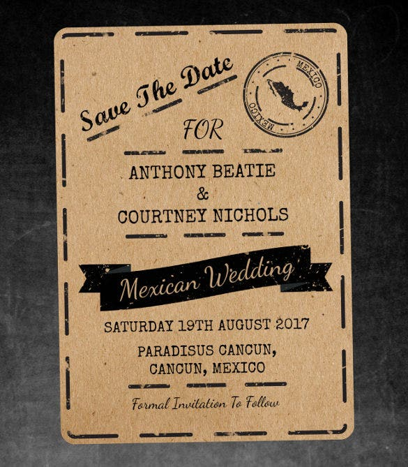 destination addressing wedding invitation template