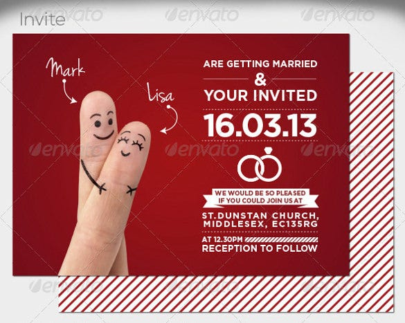 handsy addressing wedding invitation template download