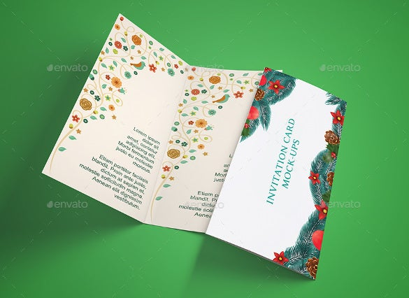 bifold addressing wedding invitation template download