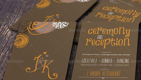 addressing wedding invitation template