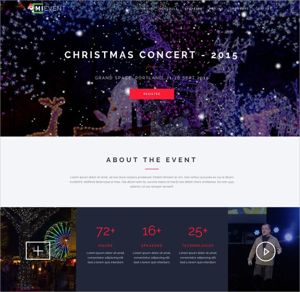 multipurpose joomla event music template