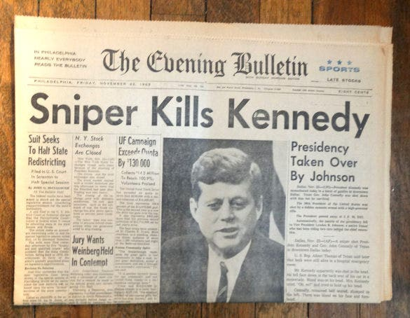 old newspaper front page template download