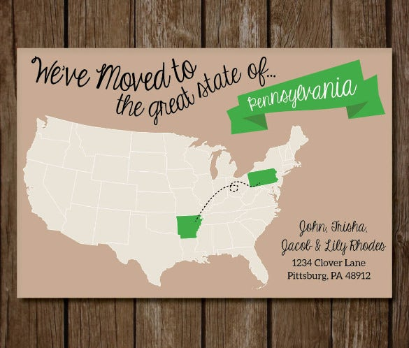 printable real estate postcard template