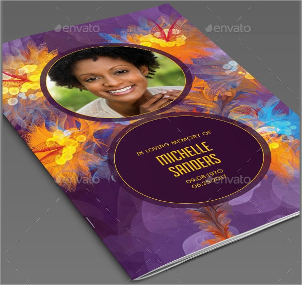 Remember Funeral Program Template
