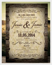 571 Wedding Invitation Templates Free Sample Example