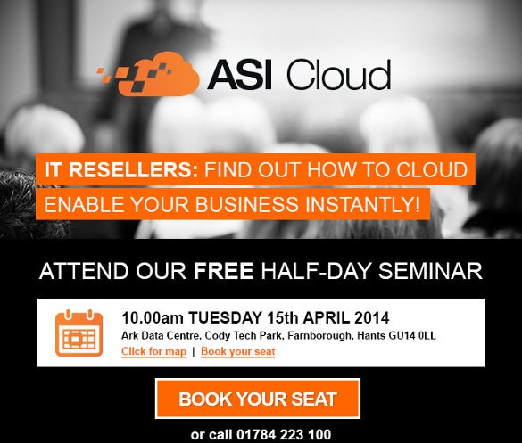 15 seminar invitation templates free sample example format asi cloud seminar invite email for everyone accmission Images