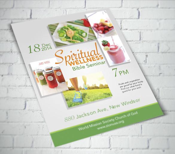 spiritual wellness seminar of bible