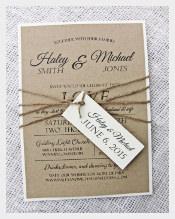 Diy Printable Modern Wedding Invitation