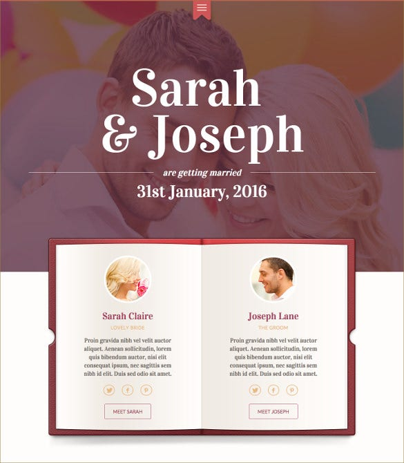swish modern wedding evenet wordpress theme