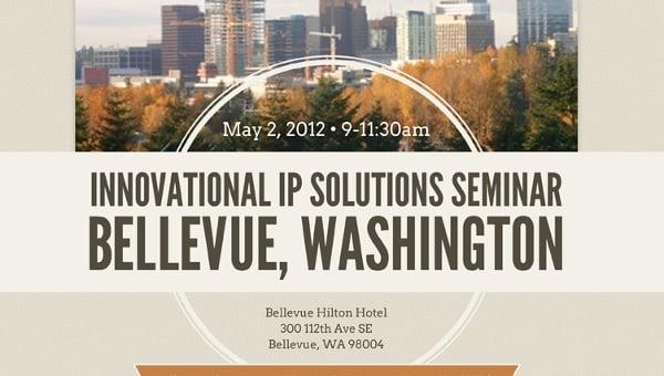 seminar invitation for all