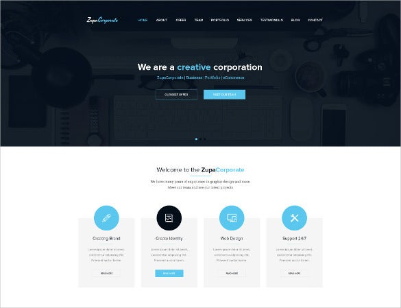 business and corporate psd template
