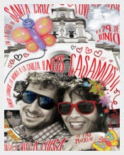Funny Wedding Invitation for Elena and Alex