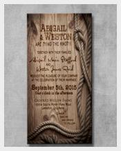 Customizable Style Wedding Invitation