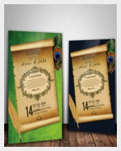 Beautiful Elegant Second Wedding Invitation Download