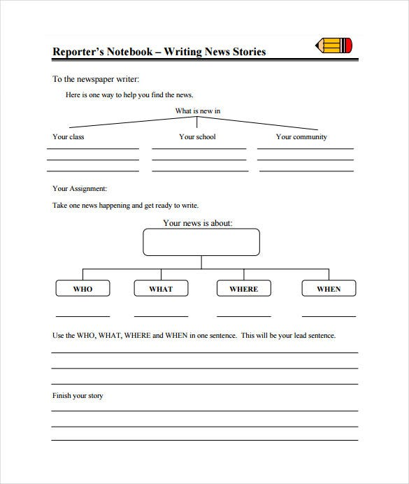Classroom Newspaper Template 8 Free Word Pdf Ppt Documents
