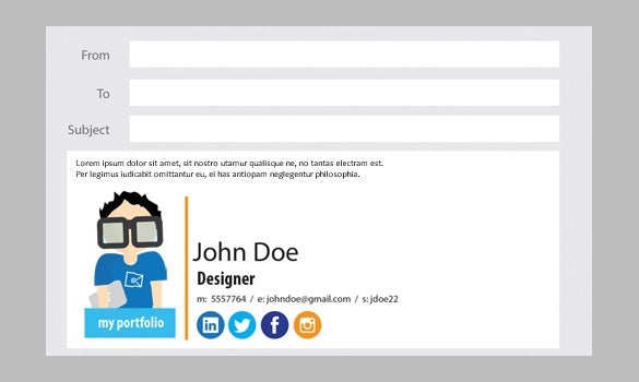 new old stamp free email signature generator