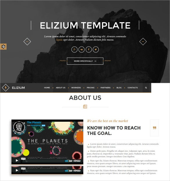 superb responsive event html5 bootstrap template