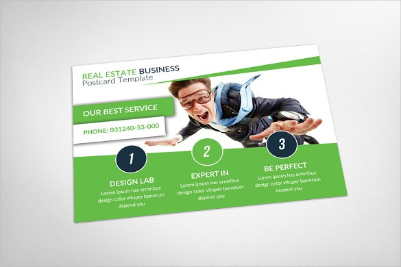 20 Marketing Postcard Templates Free Sample Example Format – Real Estate Marketing Postcard Templates