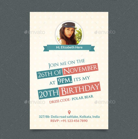 birthday postcard template psd format