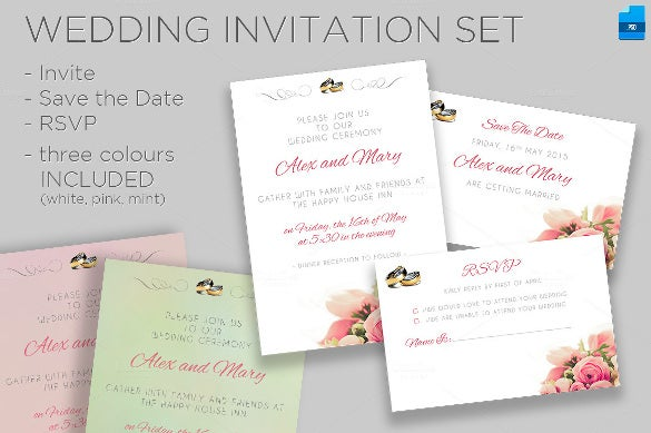beautiful wedding invitation1