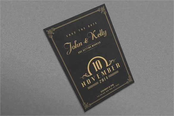 Wedding Postcard Templates Free Sample Example Format - Card template free: postcard wedding invitations template