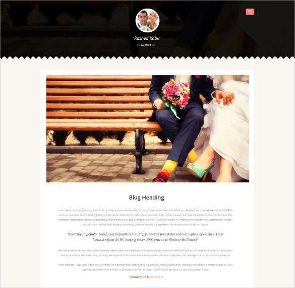 wedding event html php template