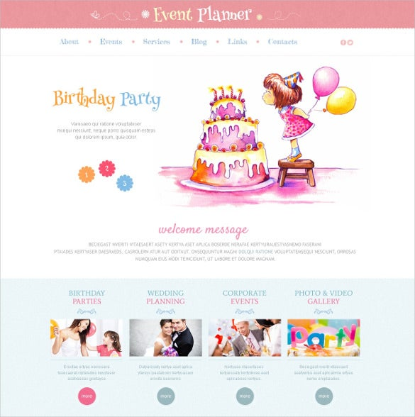 21+ Event Website Themes & Templates | Free & Premium Templates