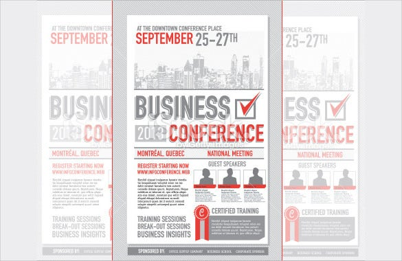 75 poster templates free psd ai vector eps format download business conference poster design template illustration friedricerecipe Gallery