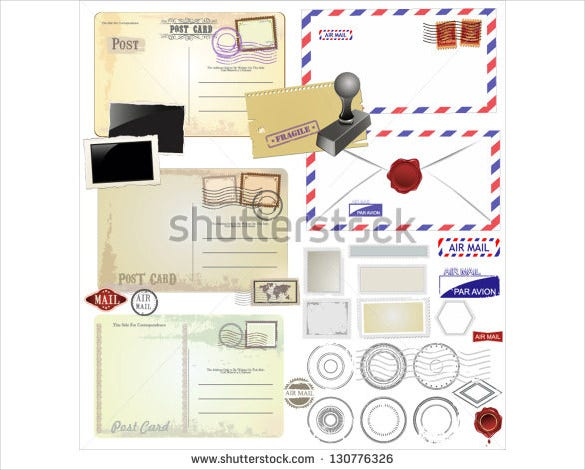 Postcard Mailing Templates Free Sample Example Format - Card template free: postcard mailing template