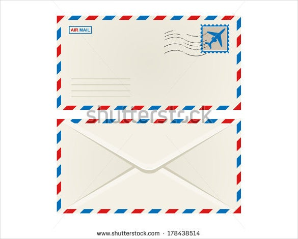 front and back postcard mailing template