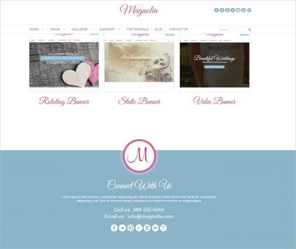 premium clean wedding event website theme
