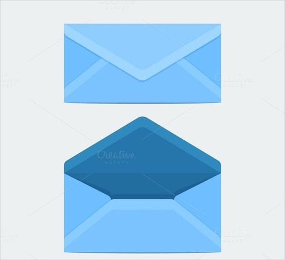 flat postcard mailing template download