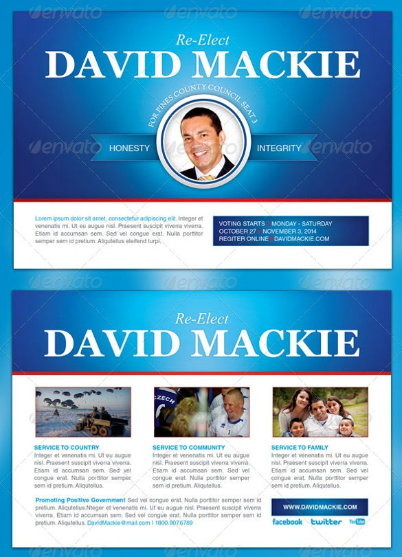 14+ Political Postcard Templates – Free Sample, Example Format