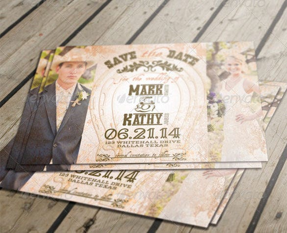 western wedding invitation- 19+ psd, jpg, indesign format download, Wedding invitations