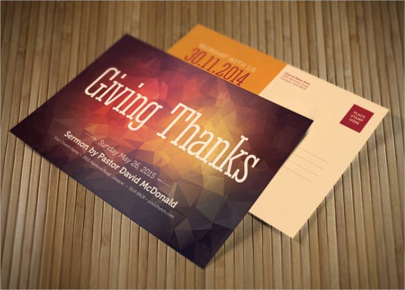 thanksgiving church postcard bundle