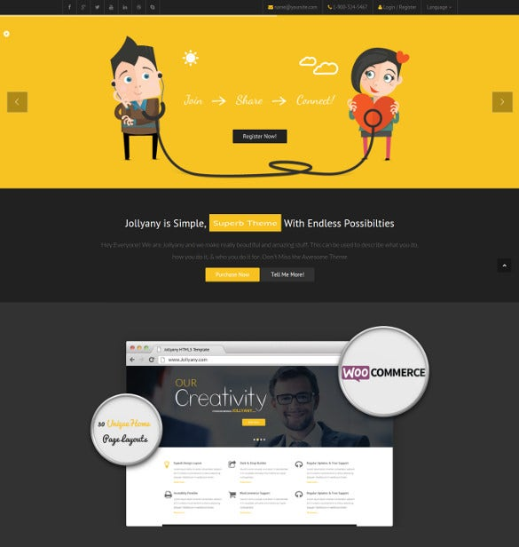 corporate event multi purpose drupal template