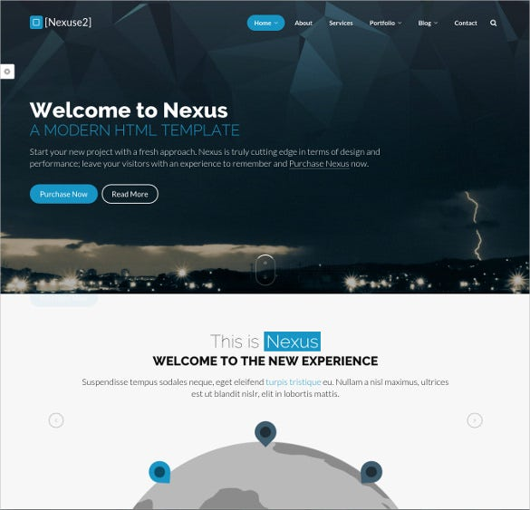 multi one page business event drupal theme