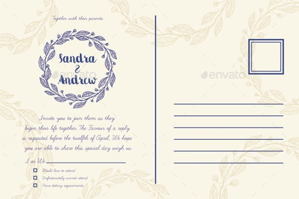 beautiful wedding invitation2