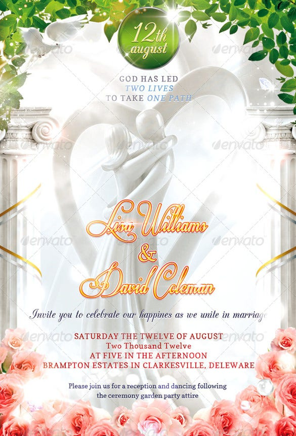 romantic wedding invitation1