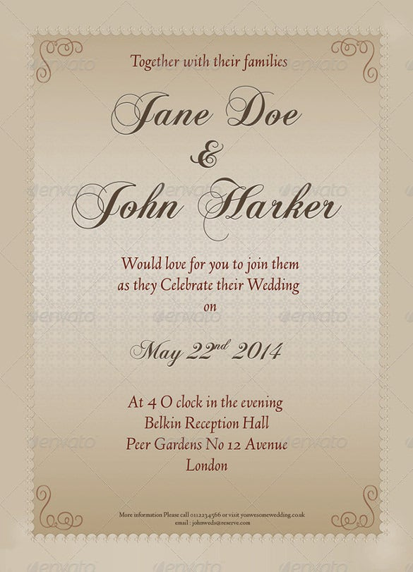 elegant wedding invitation3