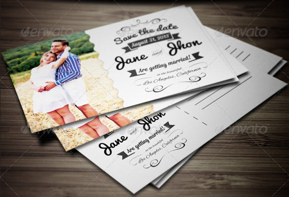 beautiful elegant wedding invitation