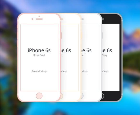Julia Bondarenko's Free iPhone 6S Mockup