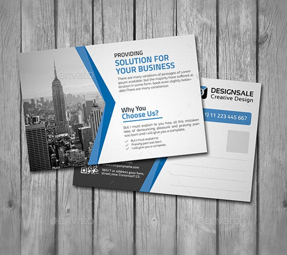 Promotional postcards templates roho4senses promotional postcards templates cheaphphosting