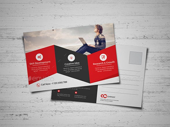 businessprintable postcard templates for mac